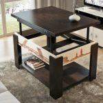 Журнальные столы-трансформеры: раскладной столик для гостиной, складная мебель на колесиках, раскладывающиеся изделия